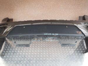Накладка на бампер на Mercedes GL-klasse