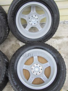 Всесезонные колеса Michelin испания X-асе 205/60 15 дюймов Weds б/у во Владивостоке