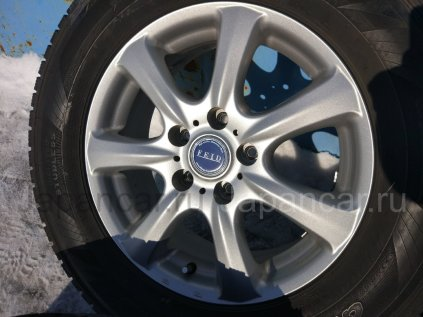 Зимние колеса Dunlop Grandtrek sj7 215/70 16 дюймов Bridgestone б/у в Новосибирске