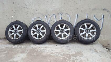 Всесезонные колеса Goodyear ice navi suv 225/65 17 дюймов Toyota б/у во Владивостоке