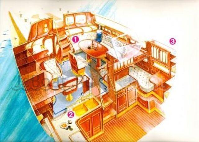 яхта парусная 2001 года