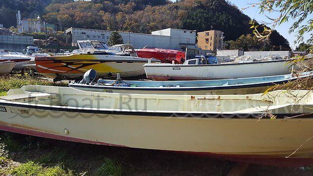 лодка пластиковая YAMAHA YAMAHA 8 M мотор YAMAHA 4 1995 г.