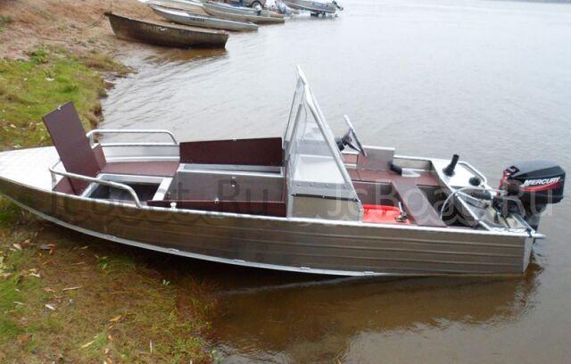 лодка WYATBOAT-390 M с консолям 2018 года