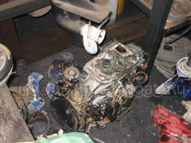 двигатель YAMAHA 2366 года
