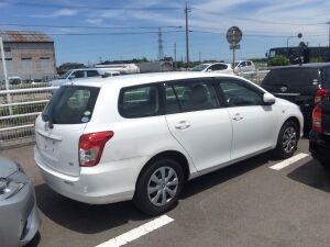 Дверь на Toyota Corolla Fielder NZE141 1NZ