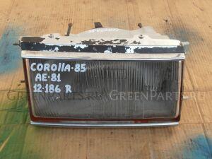 Фара на Toyota Corolla AE81 12-186