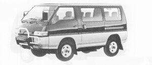 MITSUBISHI DELICA 1991 г.