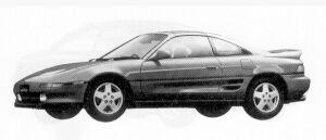 TOYOTA MR-2 1992 г.