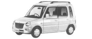 MITSUBISHI MINICA TOPPO 1997 г.