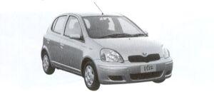 TOYOTA VITZ 2002 г.
