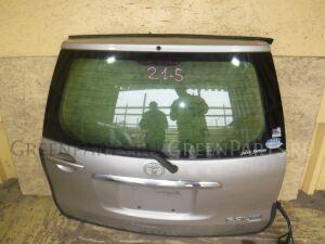 Дверь пятая на Toyota Raum NCZ25 1NZ-FE
