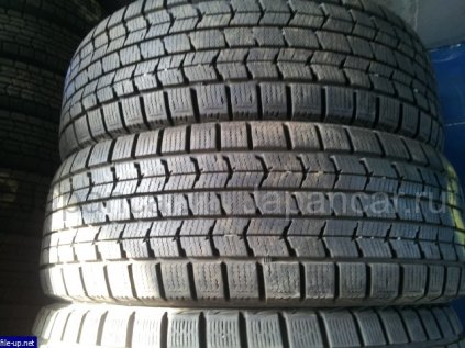 Зимние шины Dunlop Dsx 185/65 15 дюймов б/у в Иркутске