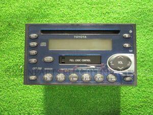 Автомагнитофон на Toyota Cresta GX105 1G-FE