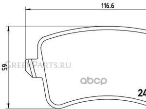 Колодки тормозные на Audi A4