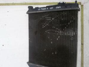 Радиатор на Nissan Micra